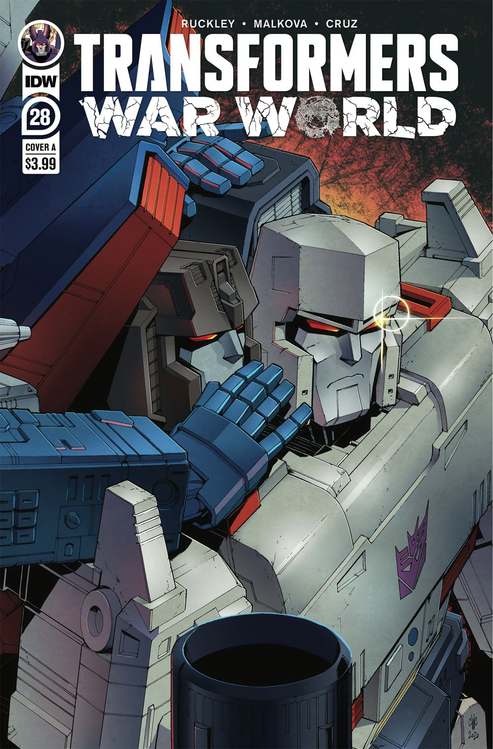 TF28-cvr-A ComicList: IDW Publishing New Releases for 03/31/2021