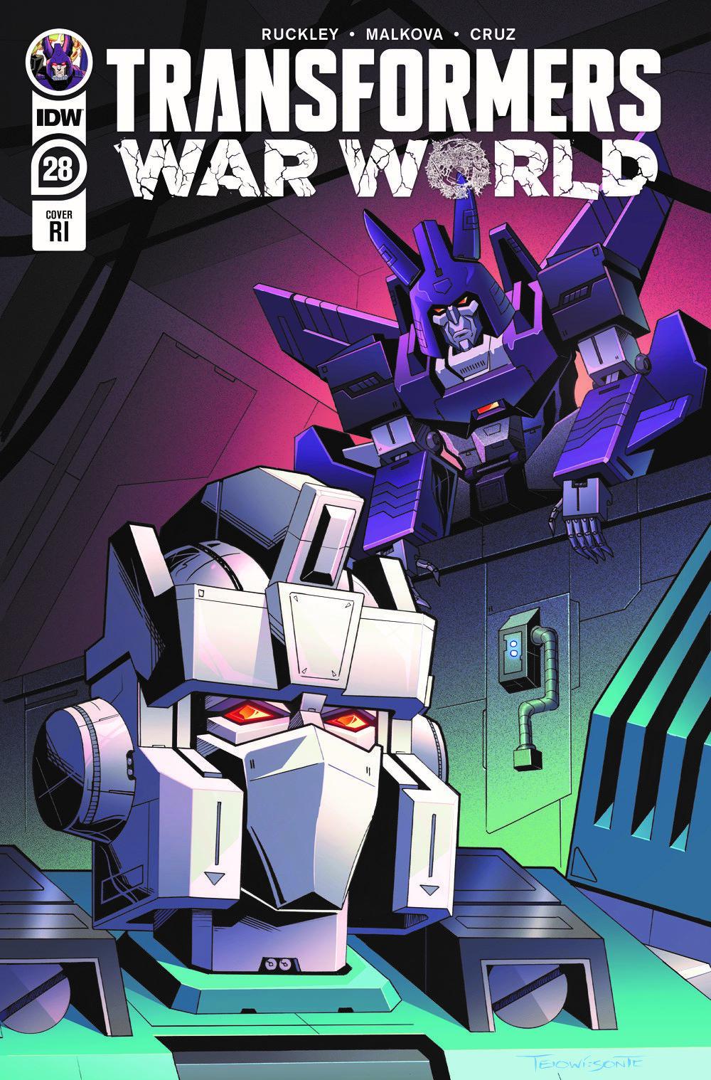 TF28-cvr-RI ComicList: IDW Publishing New Releases for 03/31/2021