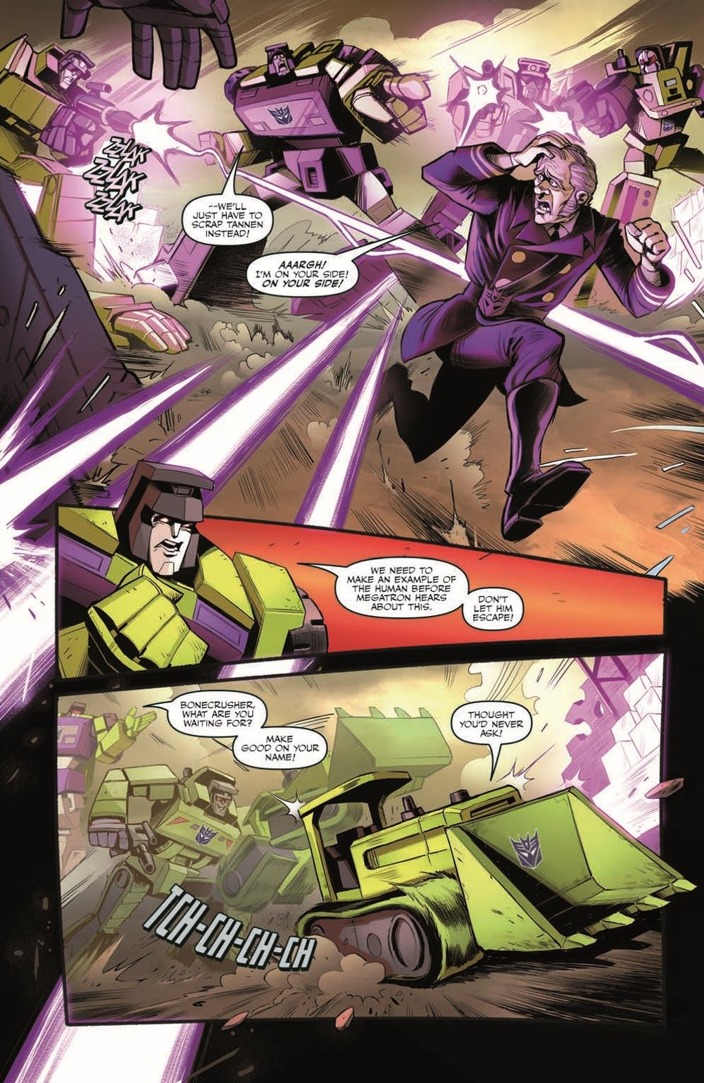 TF_BTTF03-pr-5 ComicList Previews: TRANSFORMERS BACK TO THE FUTURE #3 (OF 4)