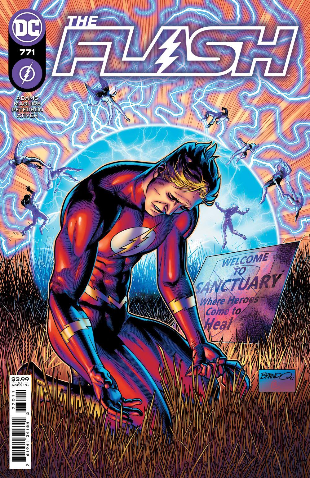 THEFLASH_Cv771 DC Comics June 2021 Solicitations