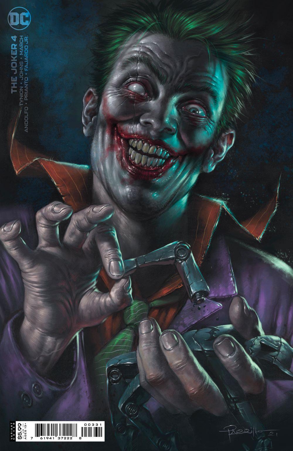 THEJOKER_Cv4_var1 DC Comics June 2021 Solicitations