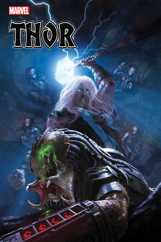 THOR2020015_Rahzzah_PredatorVar Marvel Comics June 2021 Solicitations
