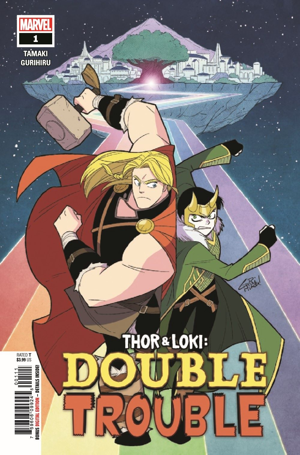 THORLOKIDT2020001_Preview-1 ComicList Previews: THOR AND LOKI DOUBLE TROUBLE #1 (OF 4)