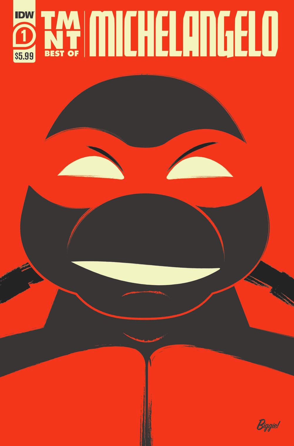 TMNT-Bestof-Mike_cvr ComicList Previews: TEENAGE MUTANT NINJA TURTLES BEST OF MICHELANGELO #1