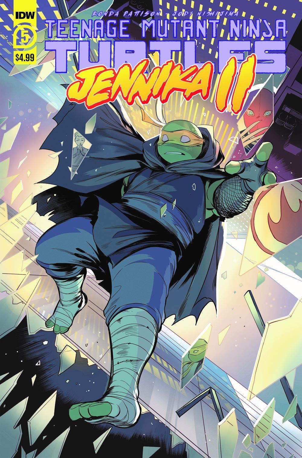 TMNT-JennikaII_05_cvrA ComicList: IDW Publishing New Releases for 03/10/2021
