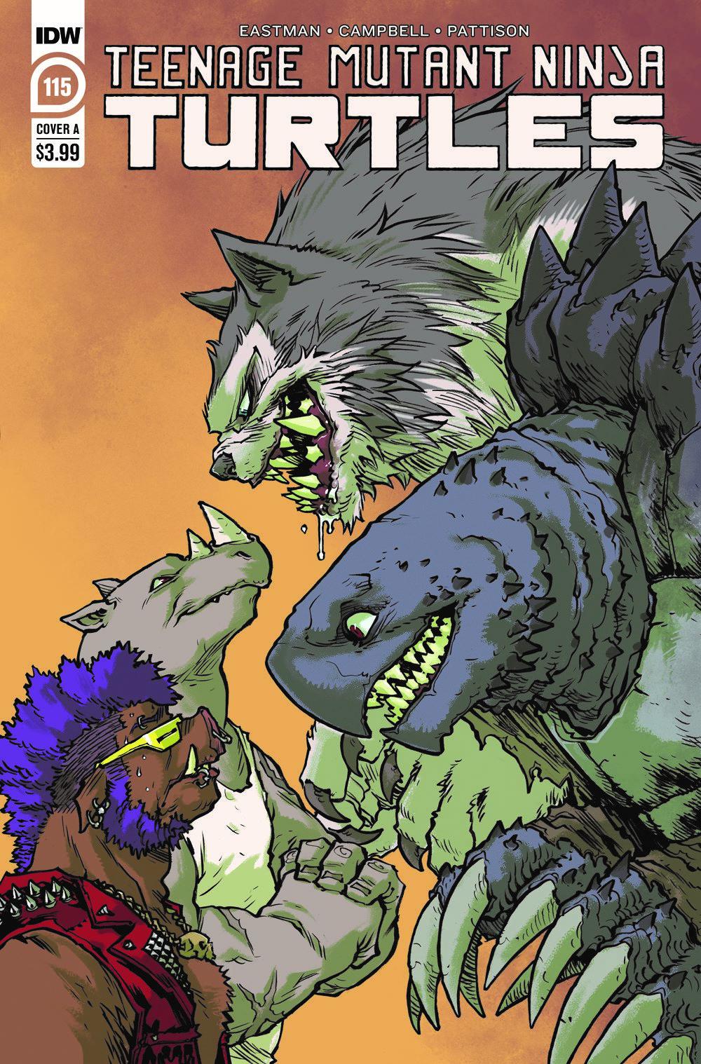 TMNT115_cvrA ComicList Previews: TEENAGE MUTANT NINJA TURTLES #115