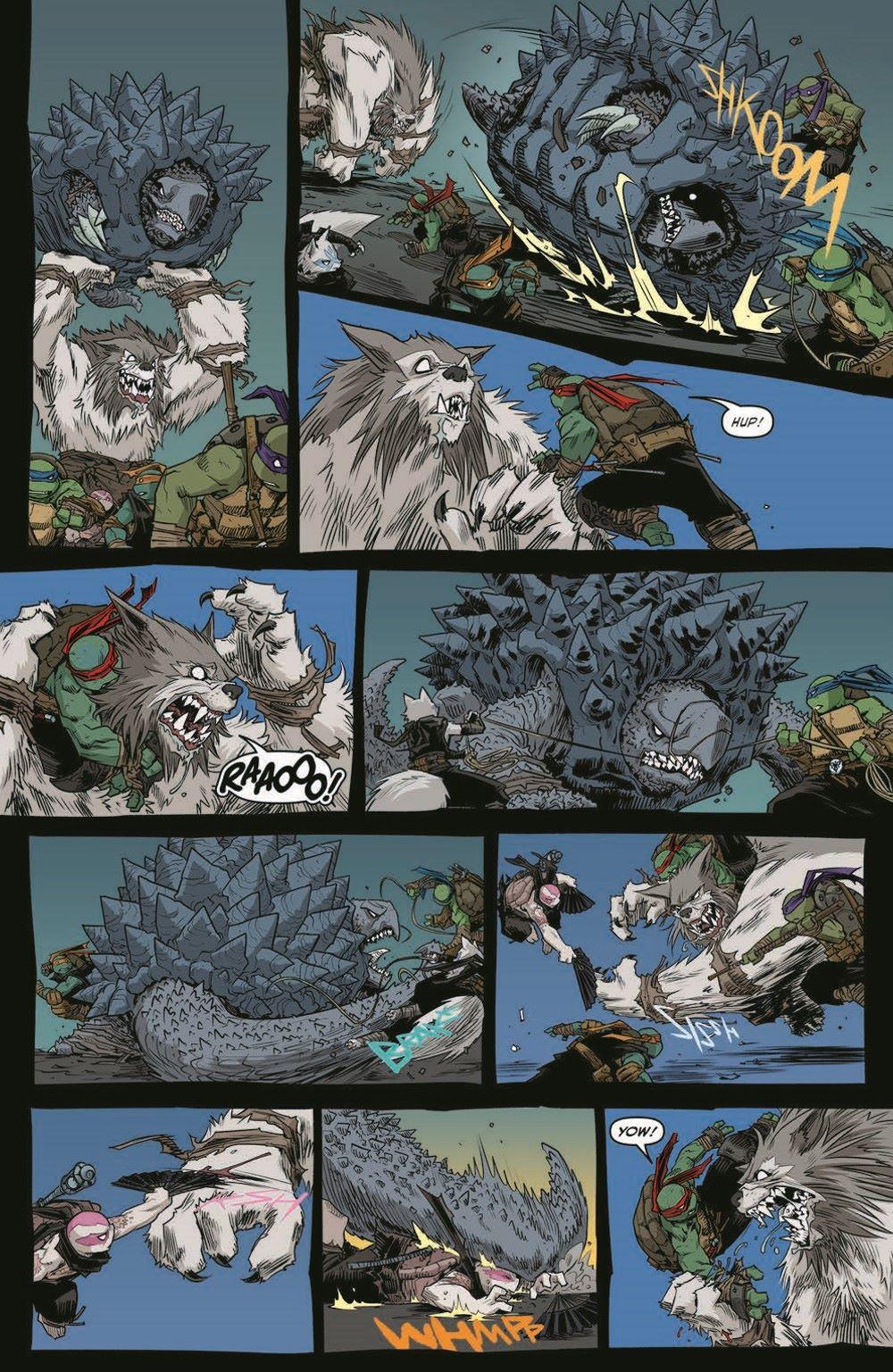 TMNT115_pr-5 ComicList Previews: TEENAGE MUTANT NINJA TURTLES #115