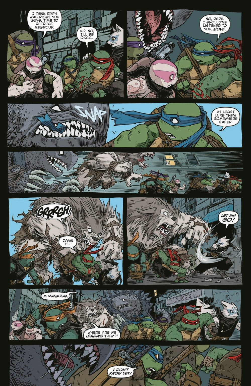 TMNT115_pr-6 ComicList Previews: TEENAGE MUTANT NINJA TURTLES #115