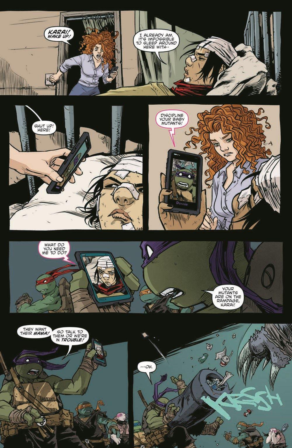 TMNT115_pr-8 ComicList Previews: TEENAGE MUTANT NINJA TURTLES #115