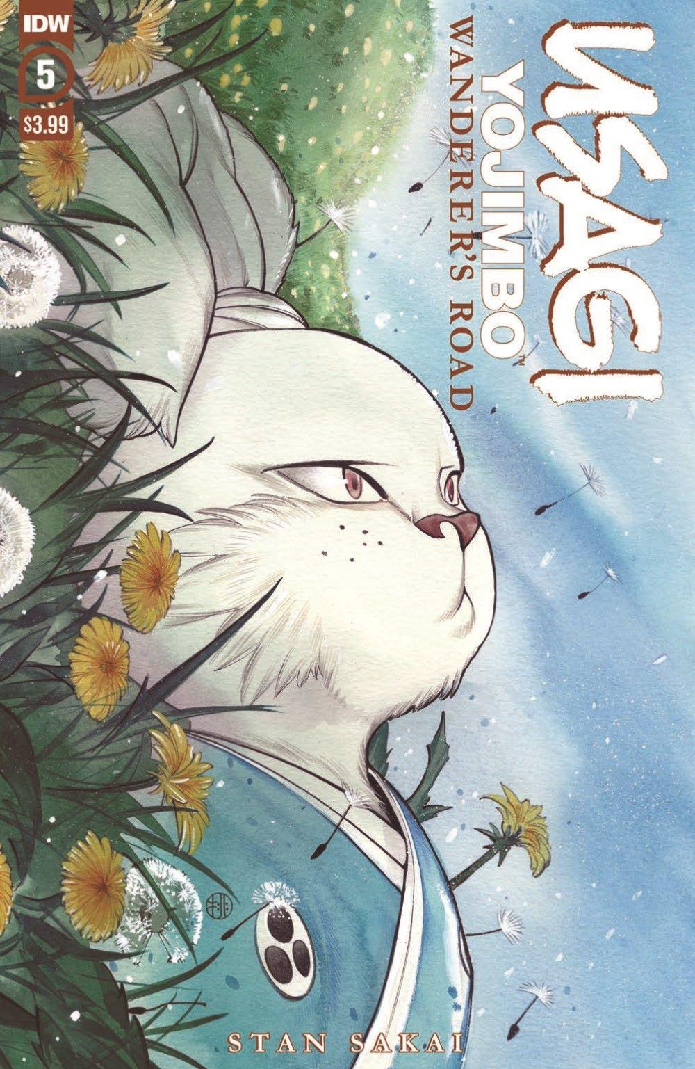 Usagi-WR05_pr-1 ComicList Previews: USAGI YOJIMBO WANDERER'S ROAD #5 (OF 6)