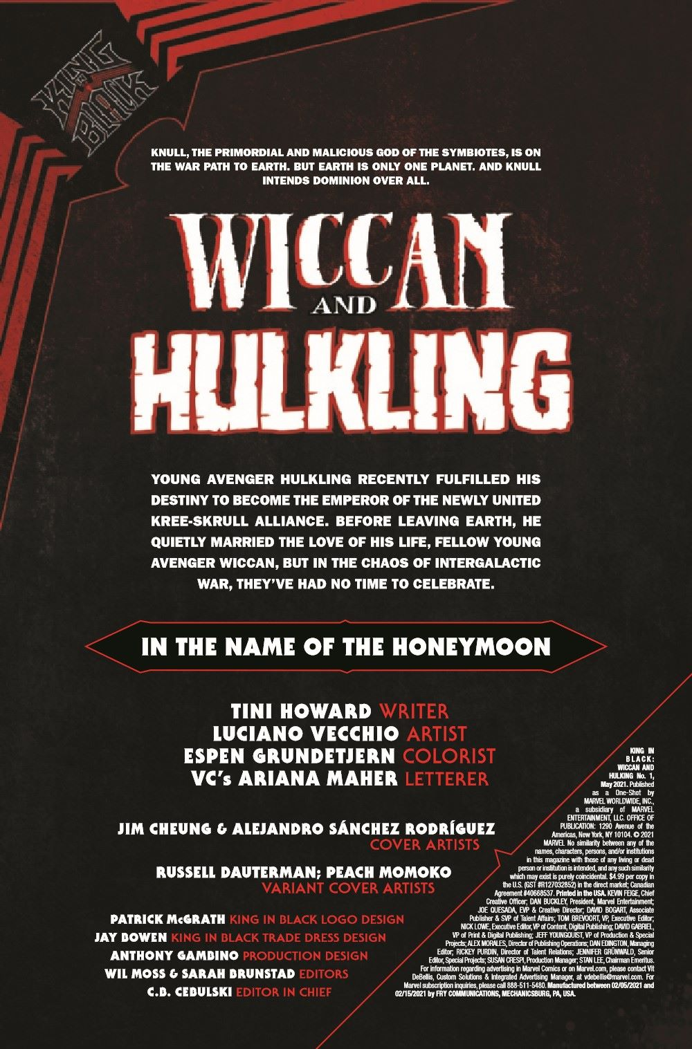 WICCHULKKIB2021001_Preview-2 ComicList Previews: KING IN BLACK WICCAN AND HULKING #1