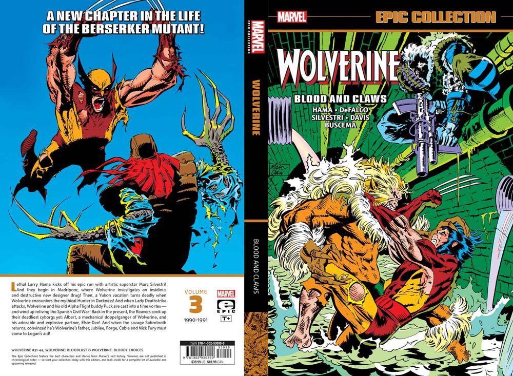 WOLVEPICV03TPB_1-4 Marvel Comics June 2021 Solicitations