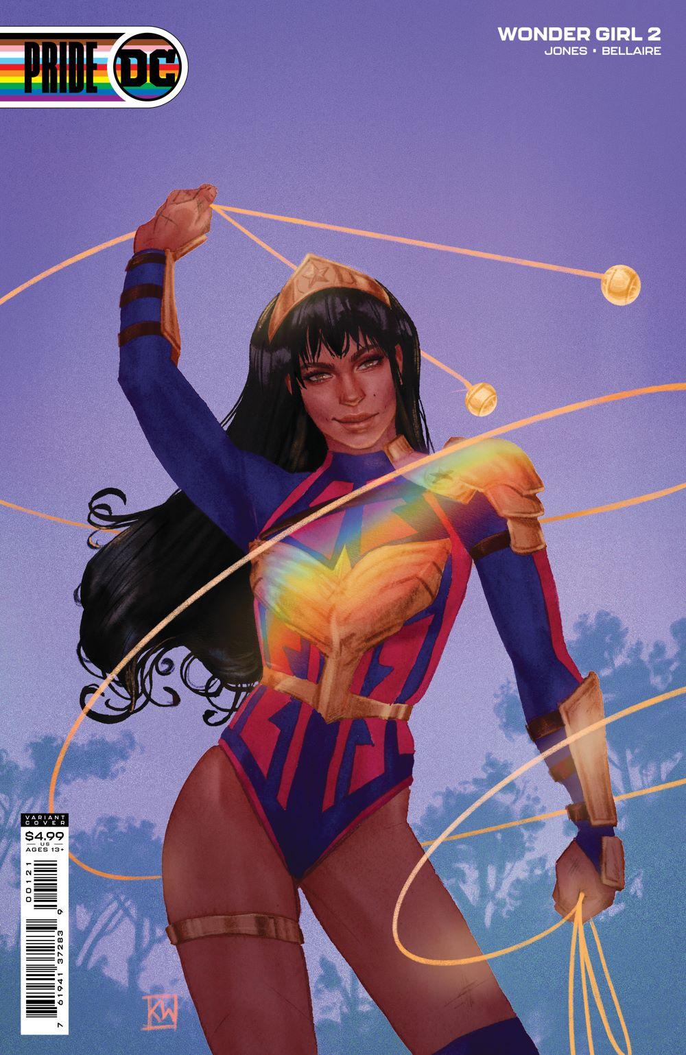 WONDERGIRL_Cv2_PRIDE_var DC Comics June 2021 Solicitations