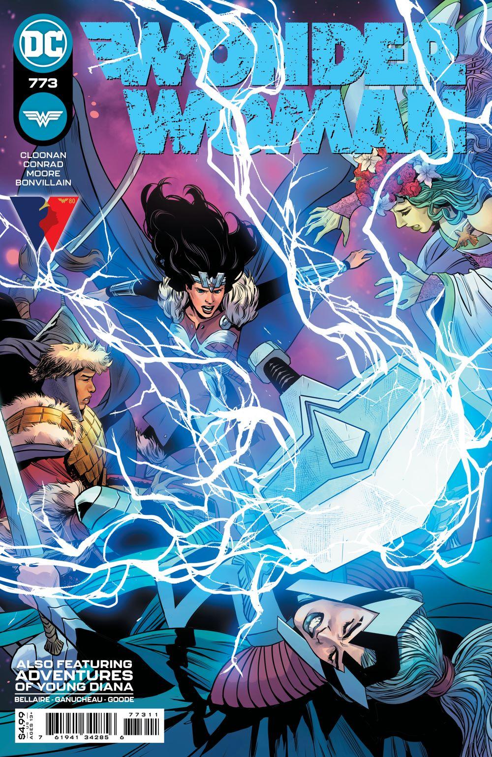 WONDERWOMAN_Cv773 DC Comics June 2021 Solicitations
