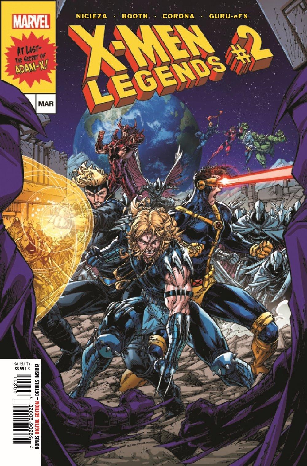 XMLEGENDS2021002_Preview-1 ComicList Previews: X-MEN LEGENDS #2