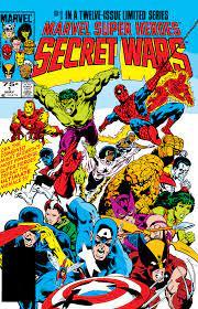 secret-wars-1-1 Blogger Dome: Secret Wars vs Crisis on Infinite Earths