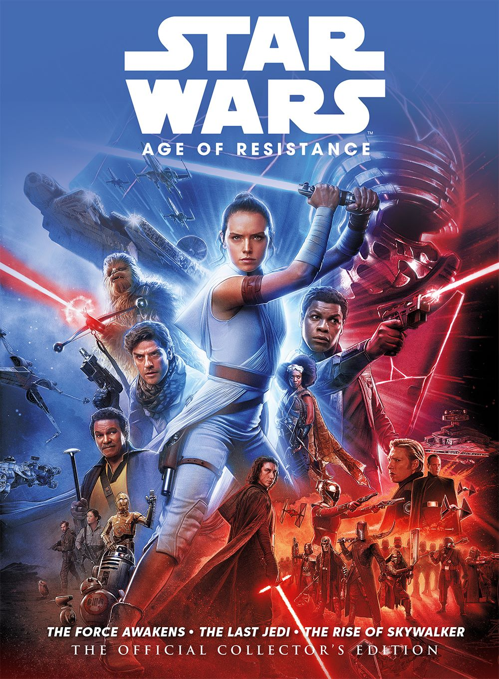 starwars_ageofresistance_hardback ComicList Previews: STAR WARS THE AGE OF RESISTANCE THE OFFICIAL COLLECTOR'S EDITION HC