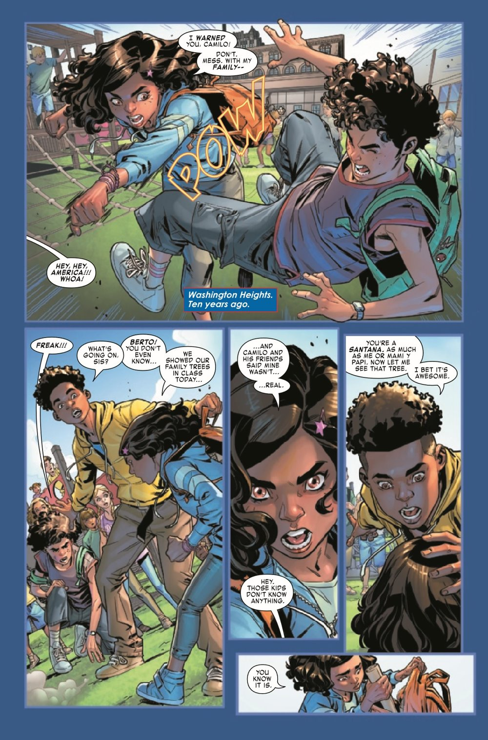 AMERCHAVEZUSA2021002_Preview-3 ComicList Previews: AMERICA CHAVEZ MADE IN THE U.S.A. #2 (OF 5)