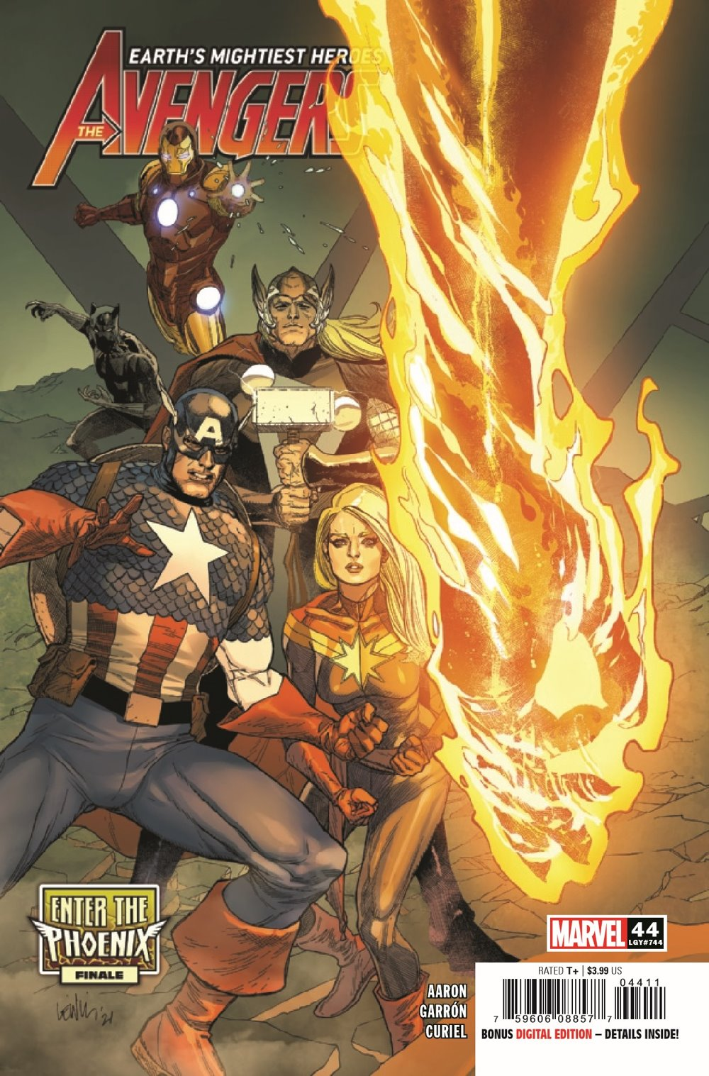 AVEN2018044_Preview-1 ComicList Previews: THE AVENGERS #44