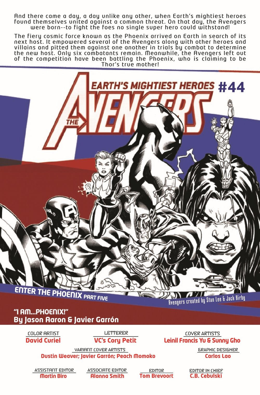 AVEN2018044_Preview-2 ComicList Previews: THE AVENGERS #44