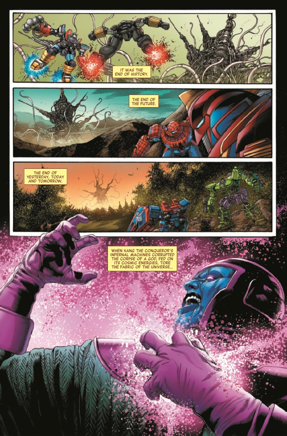 AVENMECHST2021003_Preview-4 ComicList Previews: AVENGERS MECH STRIKE #3 (OF 5)