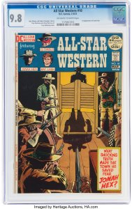 All-Star-Western-10-introducing-Jonah-Hex-189x300 First Appearance Original Art Mania: Heritage Auctions