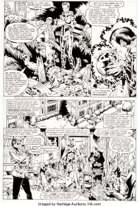 Avengers-Annual-10-Page-8-First-Appearance-Rogue-by-Michael-Golden-and-Armando-Gil-203x300 First Appearance Original Art Mania: Heritage Auctions