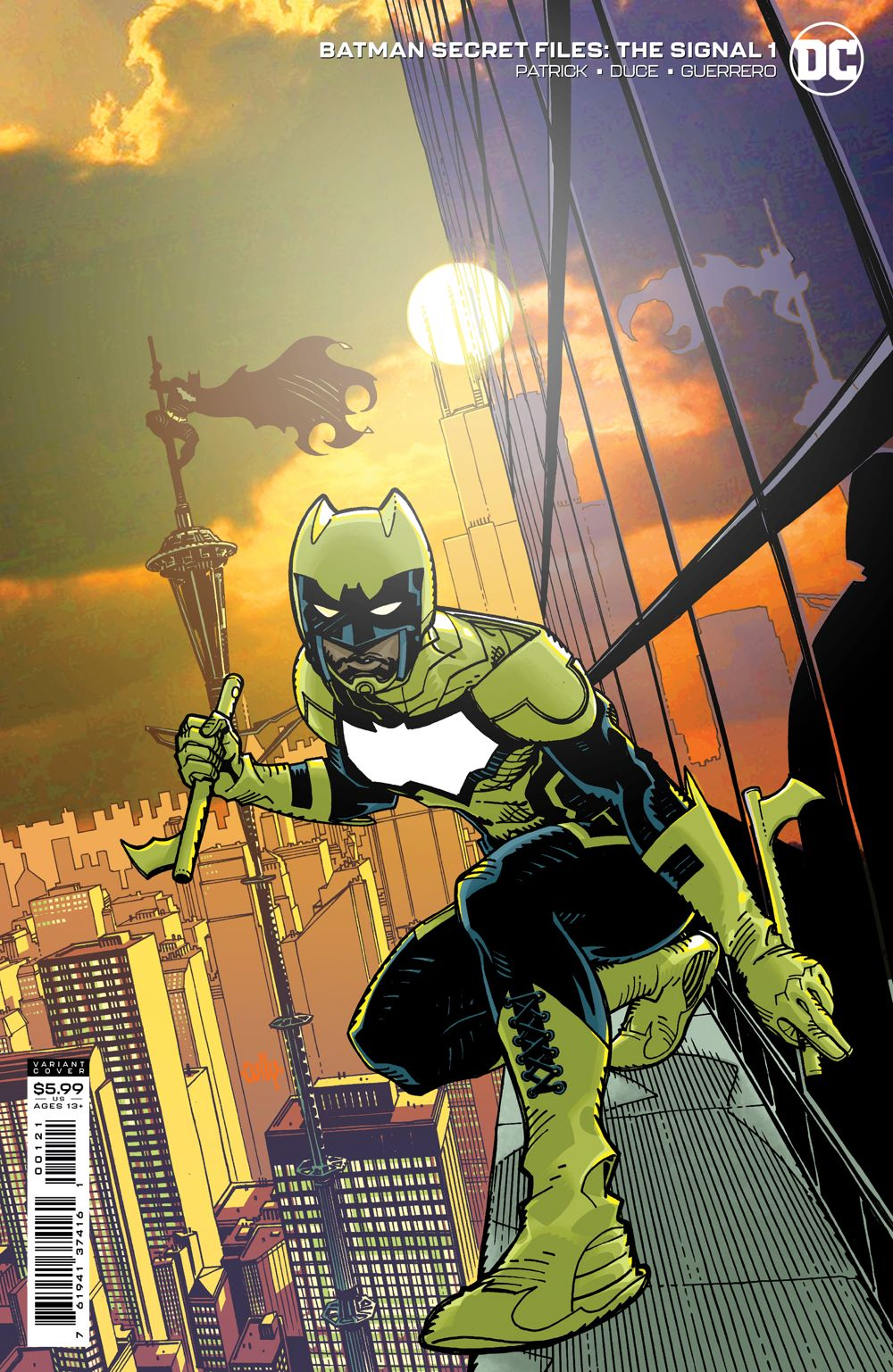 BMSF_SGNL_Cv1_var DC Comics July 2021 Solicitations
