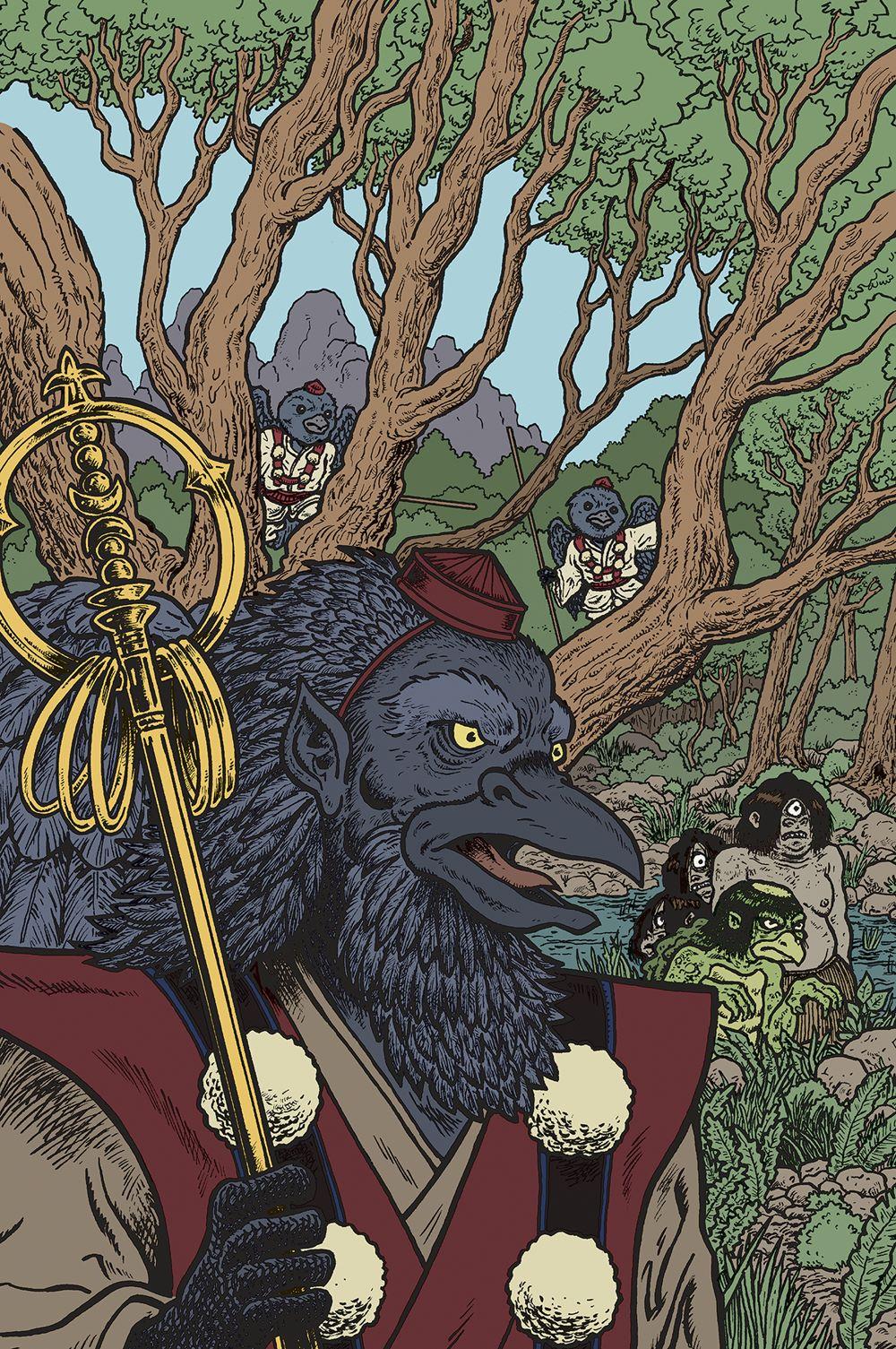 BOFBOT_i4_Variant_FC_FNL Dark Horse Comics July 2021 Solicitations