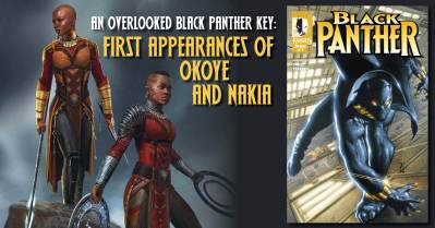 Black-Panther-300x157 An Overlooked Black Panther Key: 1st Appearances of Okoye and Nakia