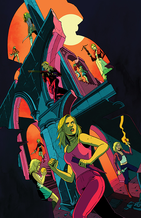 Buffy_027_Cover_D_Incentive BOOM! Studios July 2021 Solicitations