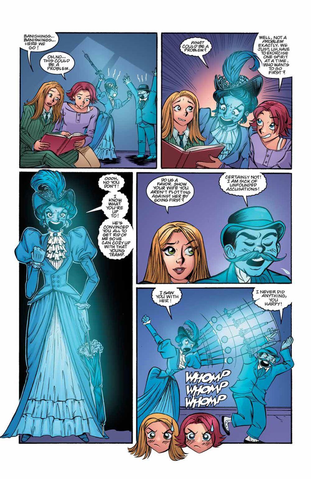 Buffy_Legacy_v4_SC_PRESS_22 ComicList Previews: BUFFY THE VAMPIRE SLAYER LEGACY EDITION VOLUME 4 SC
