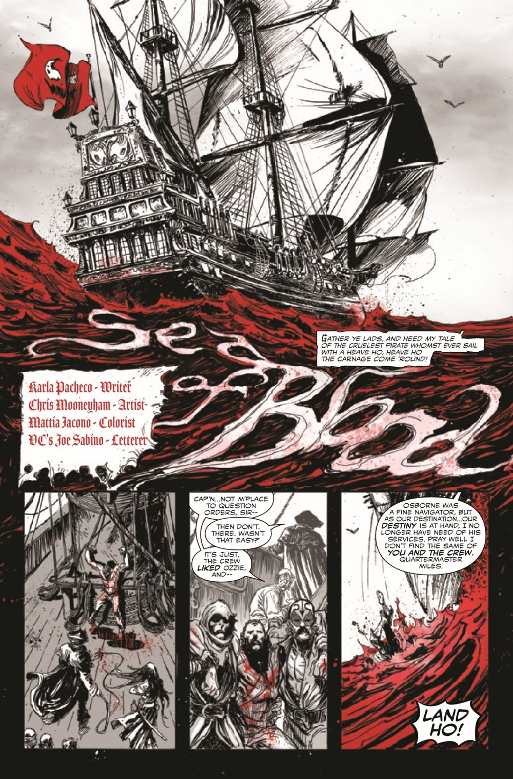 CARNBLKWHBL2021003_Preview-4 ComicList Previews: CARNAGE BLACK WHITE AND BLOOD #3 (OF 4)