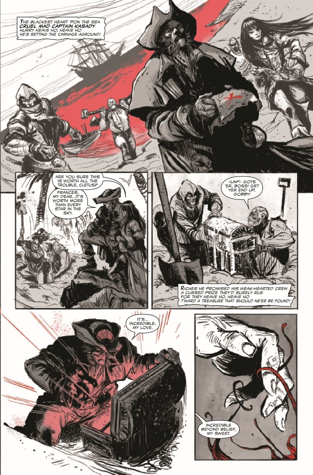 CARNBLKWHBL2021003_Preview-5 ComicList Previews: CARNAGE BLACK WHITE AND BLOOD #3 (OF 4)