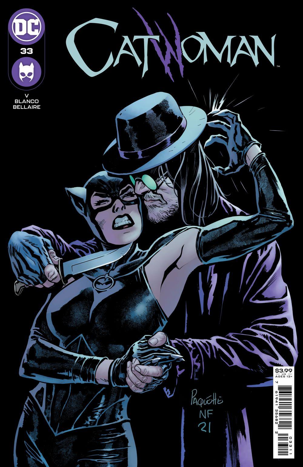 CATWOMAN_Cv33 DC Comics July 2021 Solicitations