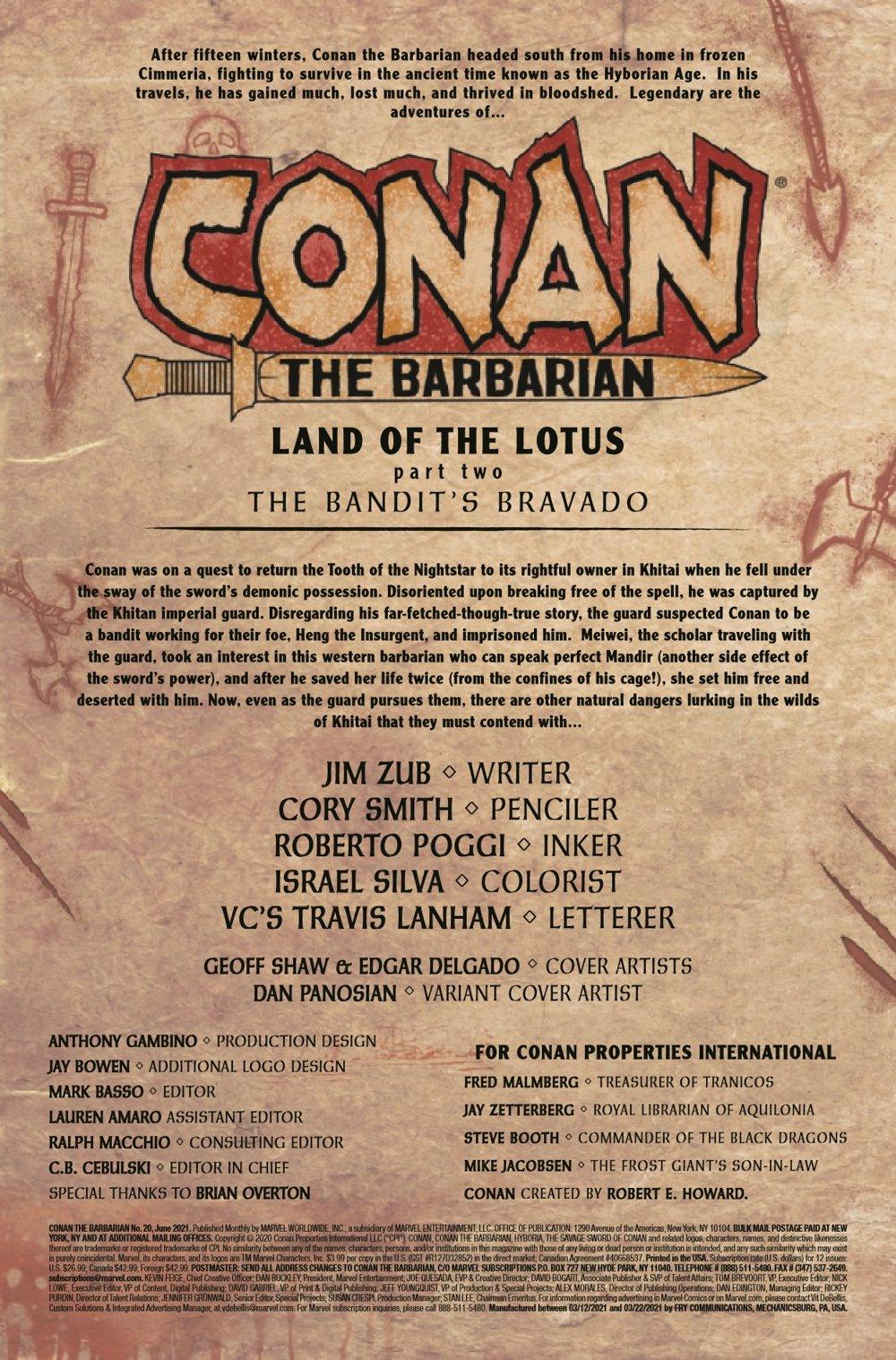 CONANBARB2019020_Preview-2 ComicList Previews: CONAN THE BARBARIAN #20