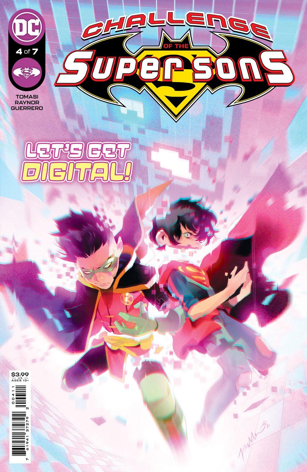 COTSuperSons_Cv4 DC Comics July 2021 Solicitations