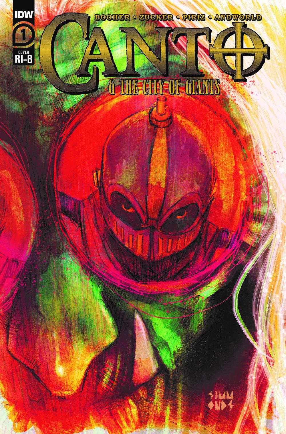 Canto-CoG01_cvrRI-B ComicList: IDW Publishing New Releases for 04/14/2021