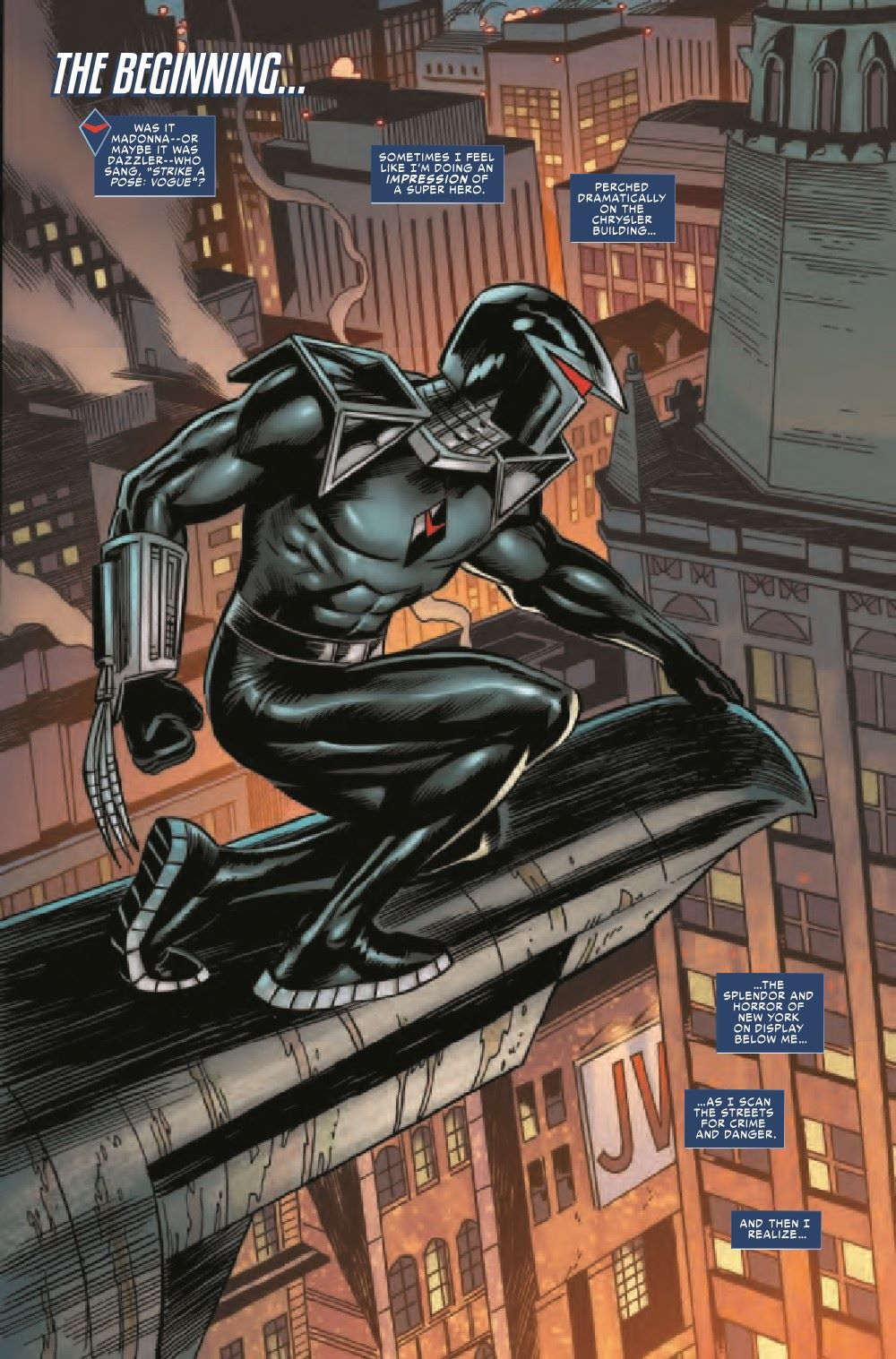 DRKHWKHOH2021001_Preview-3 ComicList Previews: DARKHAWK HEART OF THE HAWK #1