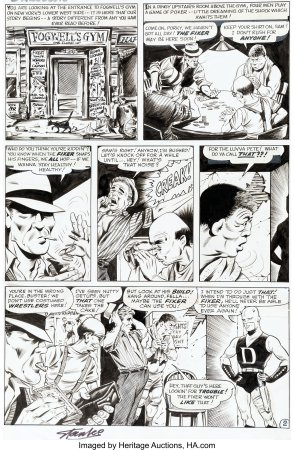 Daredevil-1-Page-2-Bill-Everett-1-196x300 First Appearance Original Art Mania: Heritage Auctions