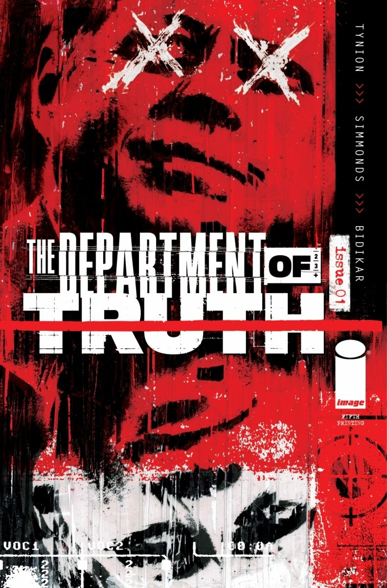 DeptofTruth_01-5thPrinting_c6815a0147f8285e3b5042ebb3626151 THE DEPARTMENT OF TRUTH #1 returns with fifth printing