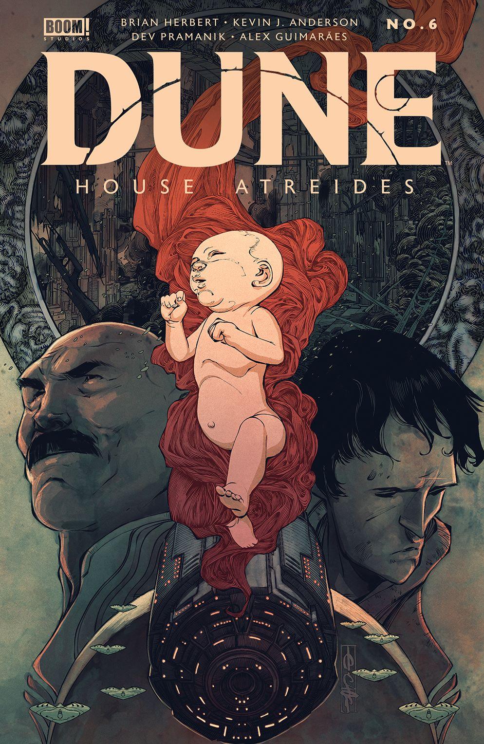 Dune_HouseAtreides_006_Cover_A_Main ComicList Previews: DUNE HOUSE ATREIDES #6 (OF 12)