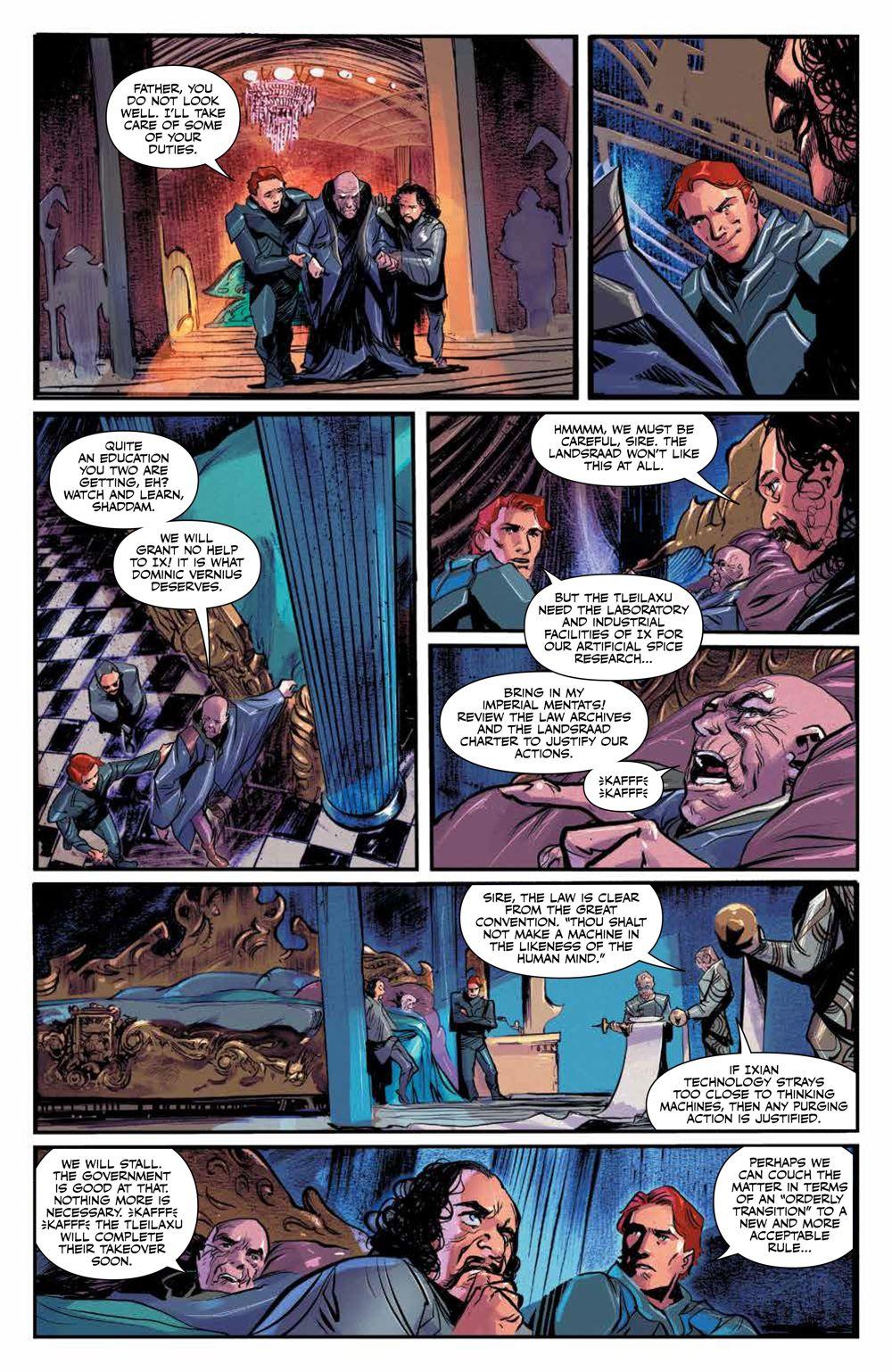 Dune_HouseAtreides_006_PRESS_6 ComicList Previews: DUNE HOUSE ATREIDES #6 (OF 12)