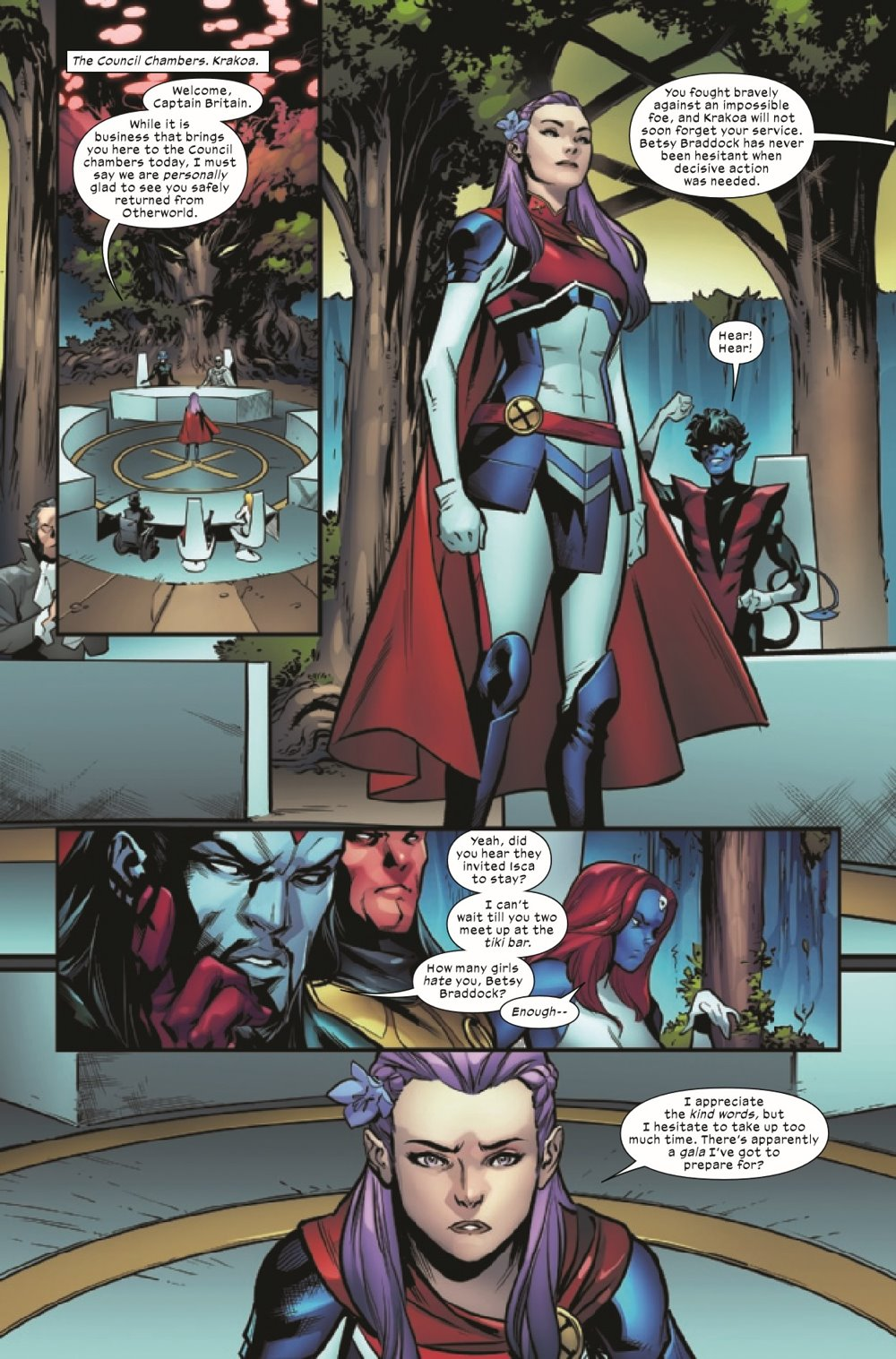 EXCAL2019020_Preview-2 ComicList Previews: EXCALIBUR #20