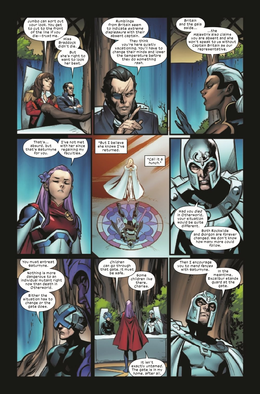 EXCAL2019020_Preview-3 ComicList Previews: EXCALIBUR #20