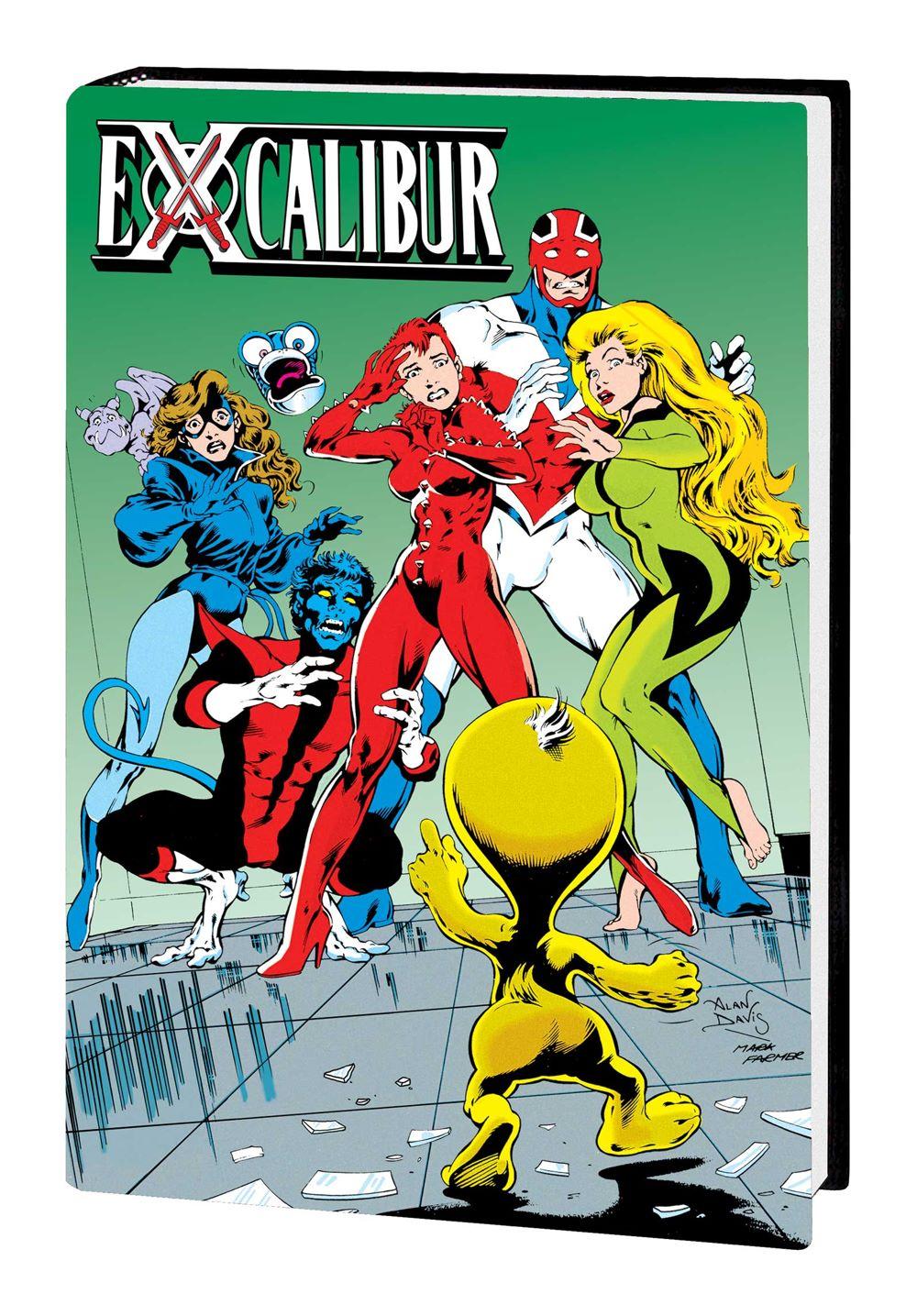 EXCALIBUR_OMNIBUS_V2_HC Marvel Comics July 2021 Solicitations