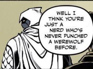 Edit-meme Blogger Dome: Moon Knight vs Batman