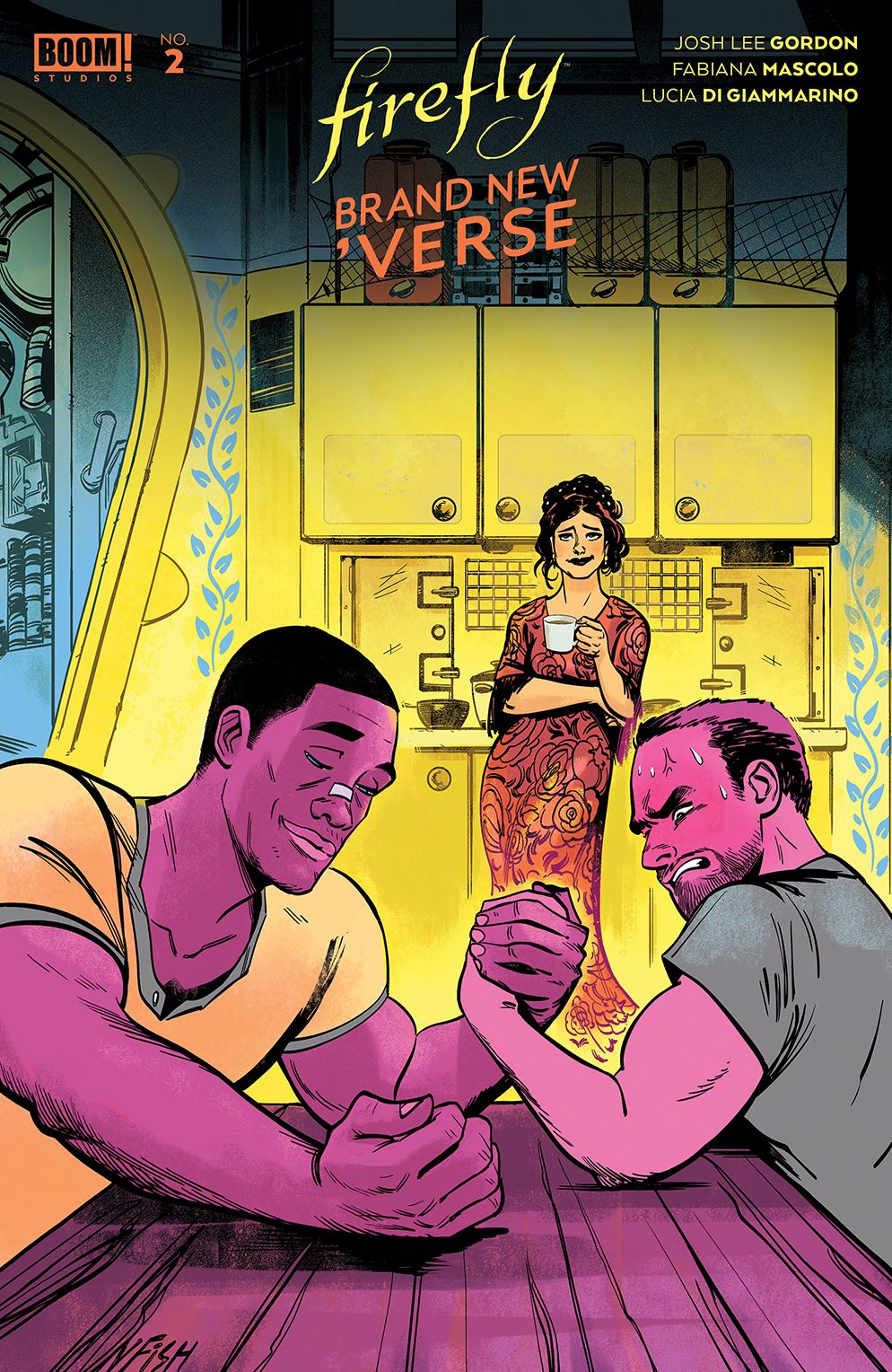Firefly_BrandNewVerse_002_Cover_B_Generations ComicList Previews: FIREFLY A BRAND NEW 'VERSE #2 (OF 6)