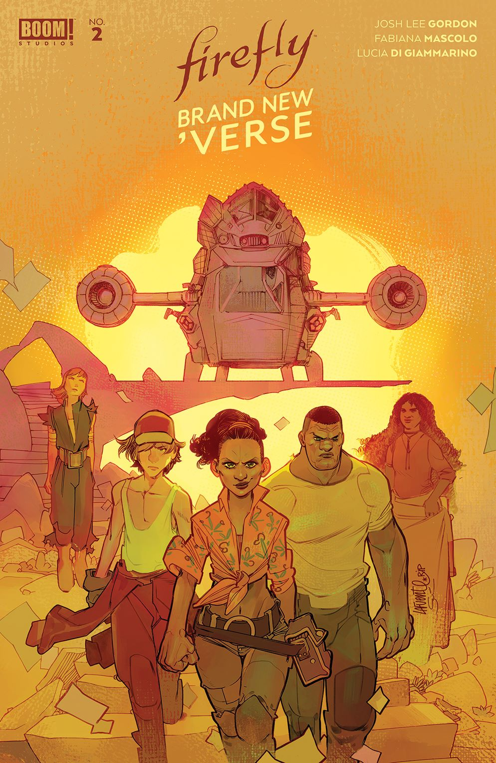 Firefly_BrandNewVerse_002_Cover_C_Variant ComicList Previews: FIREFLY A BRAND NEW 'VERSE #2 (OF 6)