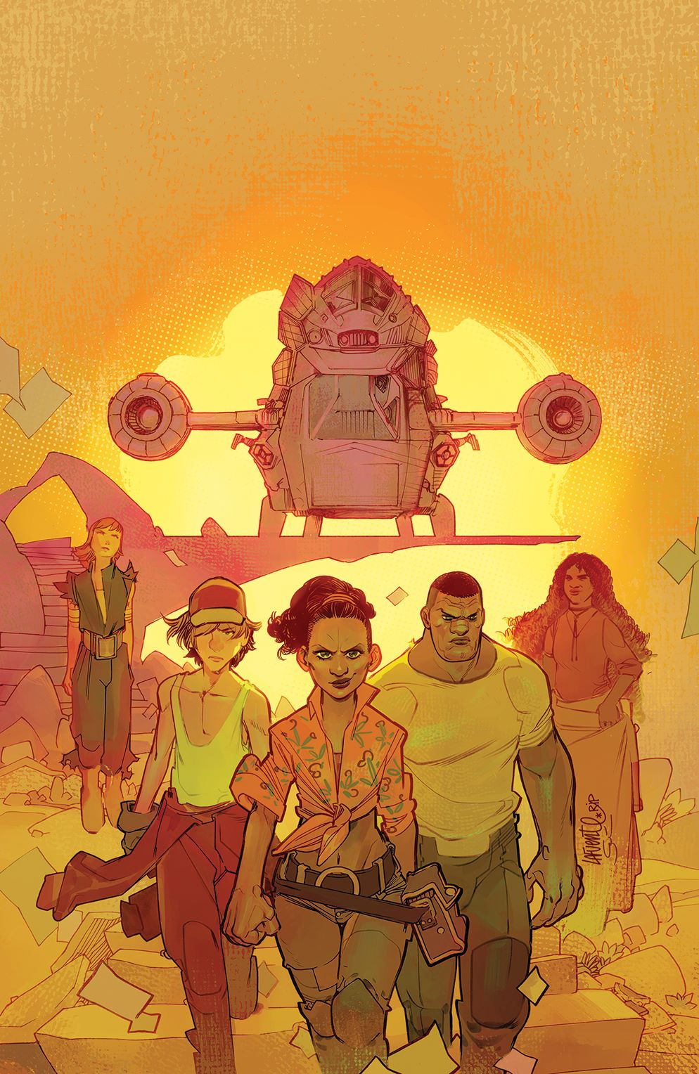 Firefly_BrandNewVerse_002_Cover_D_Variant ComicList Previews: FIREFLY A BRAND NEW 'VERSE #2 (OF 6)